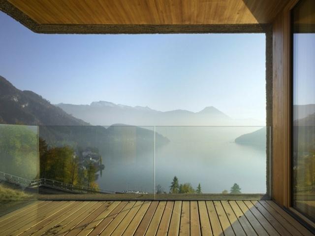 balkon aus l rchenholz - terrasseenbois, Garten und Bauten