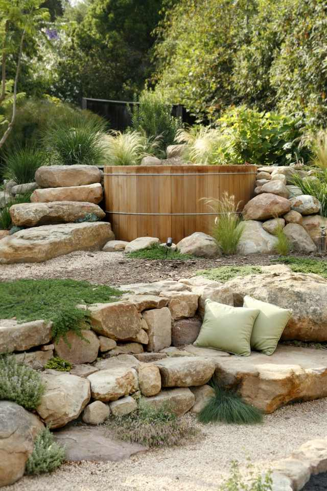 holztreppe garten fabulous auentreppe bangkirai with holztreppe garten great holz terrasse. Black Bedroom Furniture Sets. Home Design Ideas