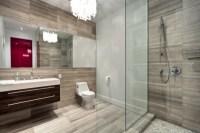 Bad mit Dusche modern gestalten - 31 ausgefallene Ideen