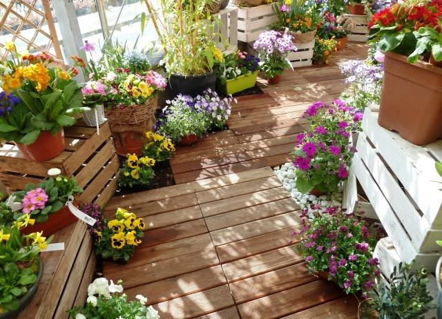 balcony garden ideas pictures | sichtschutz, Gartengerate ideen
