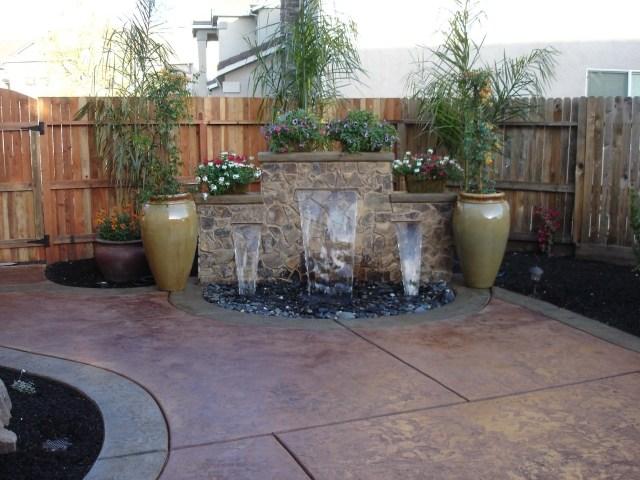 Garten Brunnen Stein Ideen | Möbelideen
