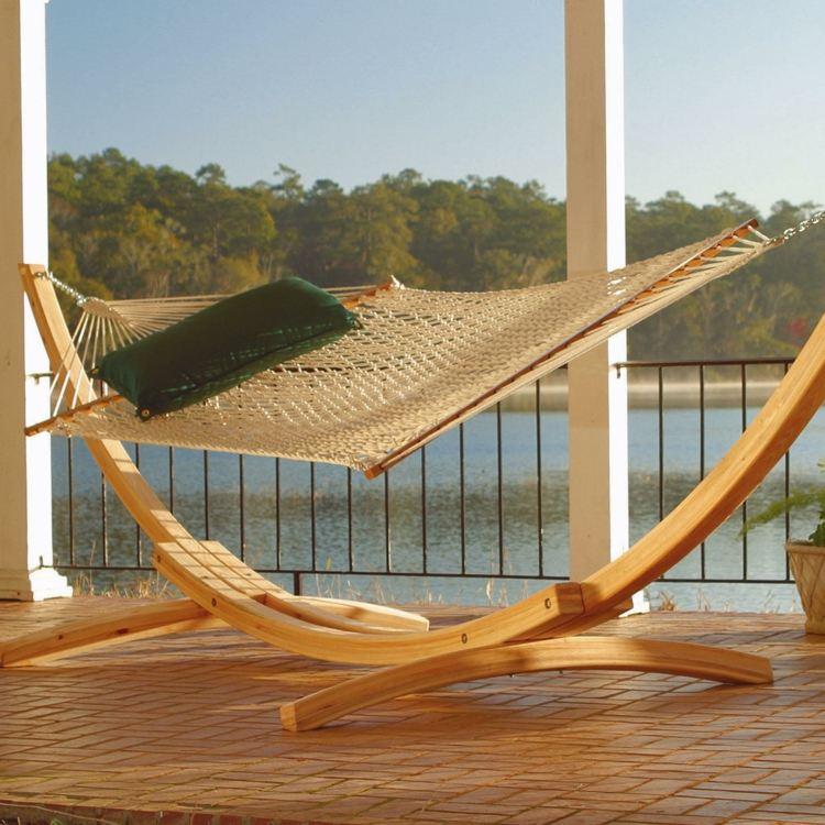 hammock chair stand diy sit on it focus hängematten mit gestell lassen sich überall im garten aufstellen