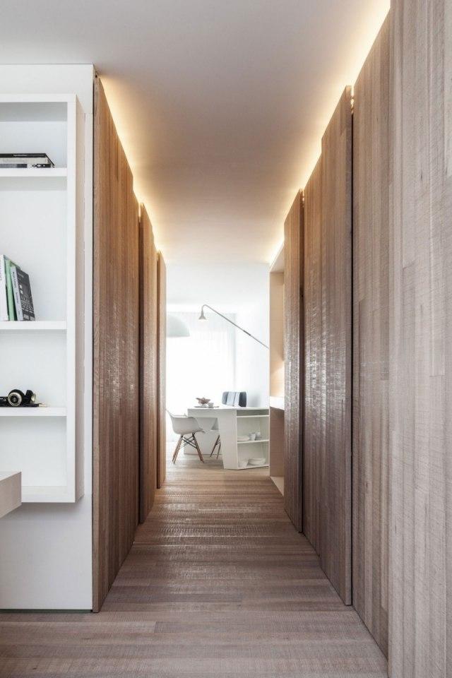 Moderne Wohnung auf schmaler Flche aber mit stilvoller