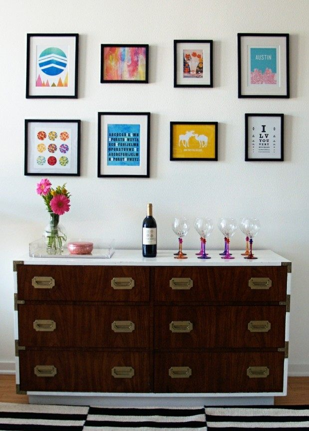 25 coole Wanddeko Ideen Poster und Bilder effektvoll in