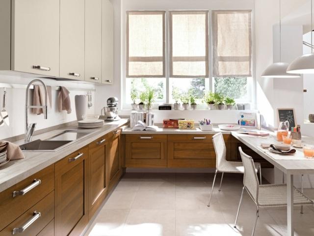kuche traditionelle holz kuche cucinelube luxus l - terrasseenbois, Kuchen dekoo