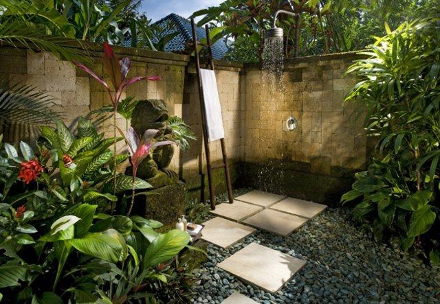outdoor dusche au enbereich gestalten ideen - boisholz - Gartendusche Ideen