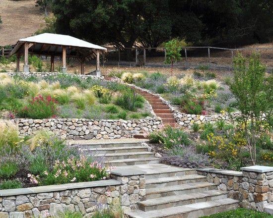garten am hang - boisholz, Garten und erstellen