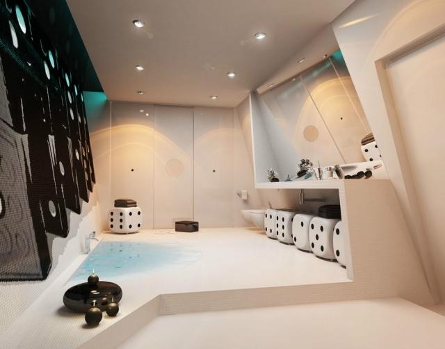 Ultimativ Luxus Bad Raumdesign Mit Einzigartigem Badeerlebnis Durch