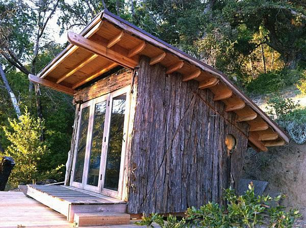 terrassenuberdachung holz rustikal - terrasseenbois, Gartengerate ideen