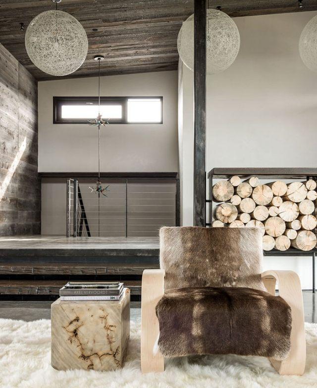 Rckzug in den Bergen  Ein rustikal modernes Haus in Wyoming