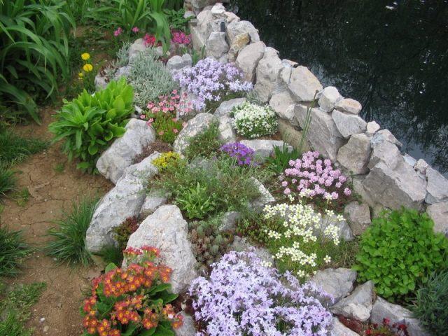gartengestaltung pflege steingarten anlegen gestaltungsideen l. Black Bedroom Furniture Sets. Home Design Ideas