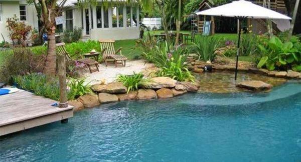 tropische gartengestaltung ideen - boisholz, Hause und garten