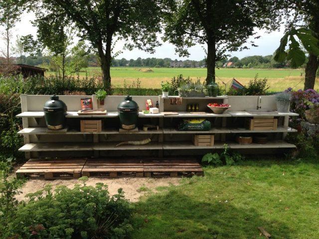 Outdoor Küche Wwoo : Meine gartenkueche outdoorkueche wwoo flammkraft biggreenegg