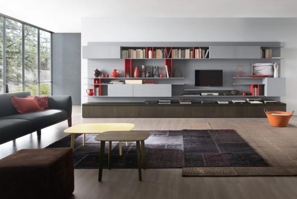 wohnzimmer tv mobel fur wohnzimmer trendig design l » terrassenholz, Möbel