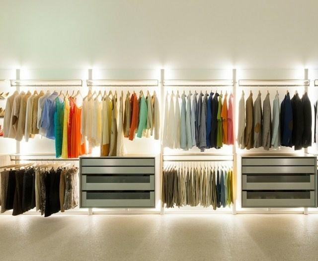 Begehbarer Kleiderschrank  Ein Traum vieler Frauen