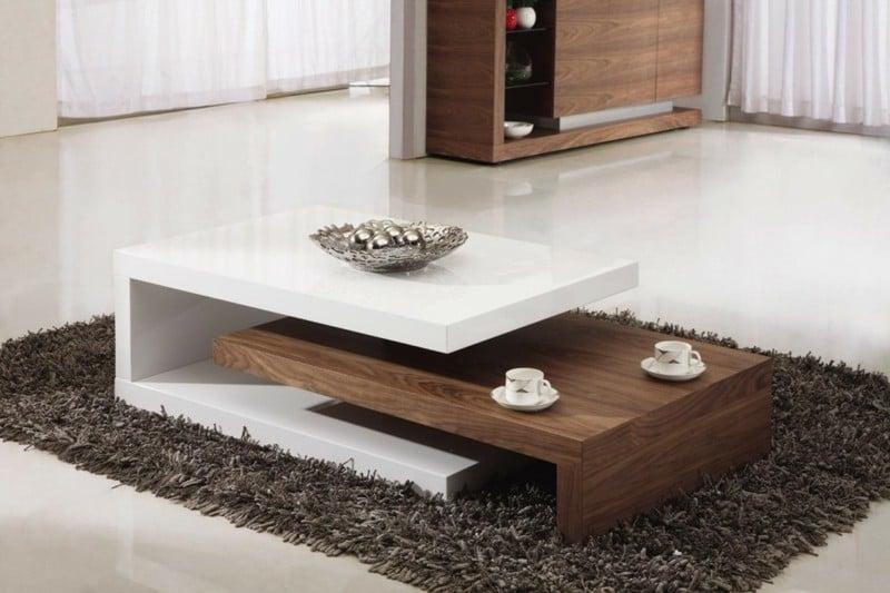47 Design Couchtische die perfekt ins moderne Wohnzimmer passen