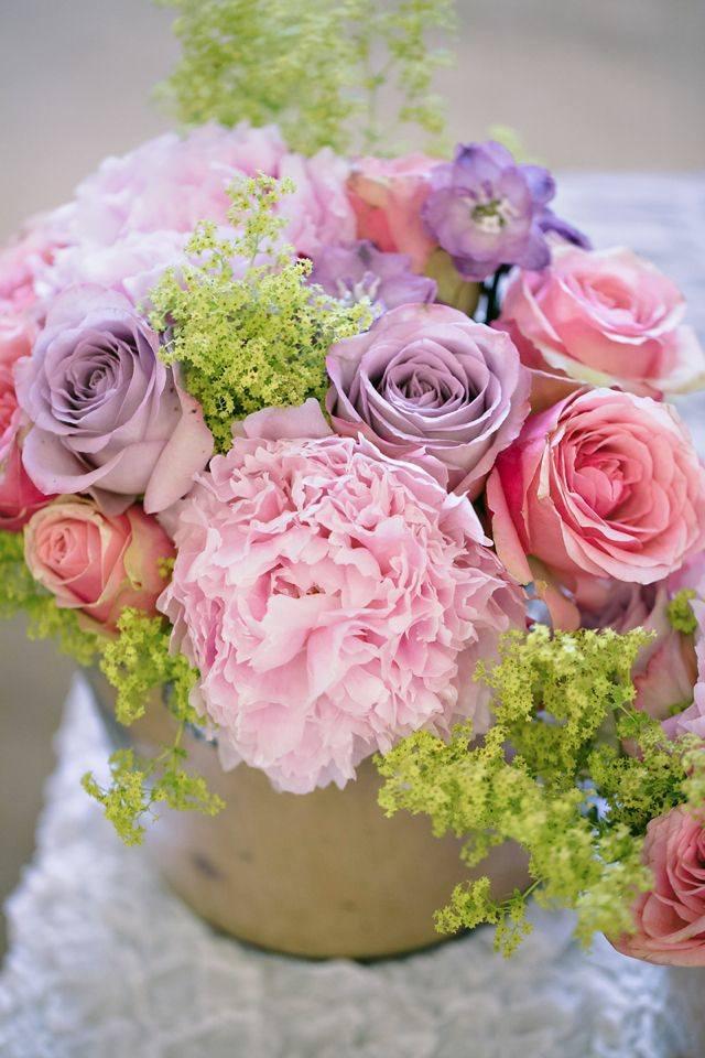 Tischdeko mit Blumen  110 Gestecke zum Selbermachen
