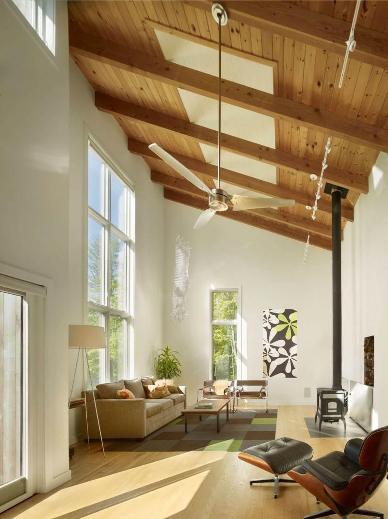Holzdecke Gestalten - 40 Ideen Im Modernen Landhausstil