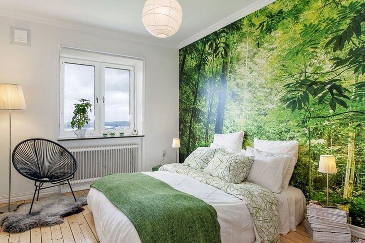 Beruhigende Farben Im Schlafzimmer | Aubergine Farbe ...
