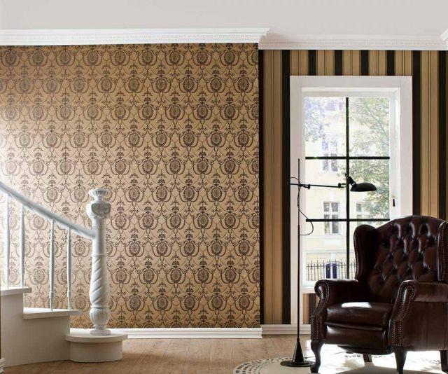 80 Wohnzimmer Tapeten Ideen  Coole moderne Muster