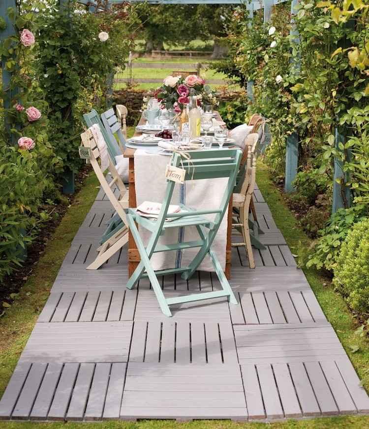 Inspirierende Ideen fr den Bodenbelag im Garten