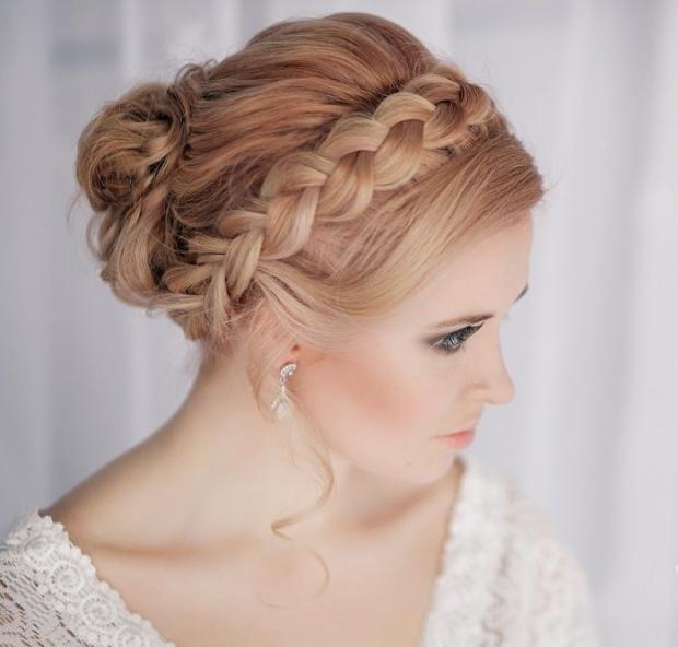 Flechtfrisuren Zur Hochzeit 35 Ideen Für Verschiedene Haarlängen