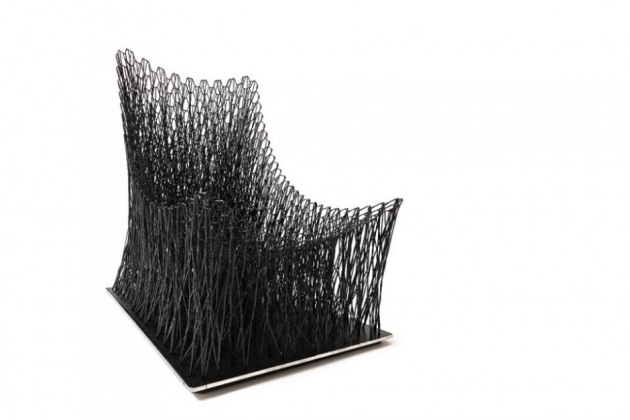 Carbonfaser Armlehnstuhl Design Luno