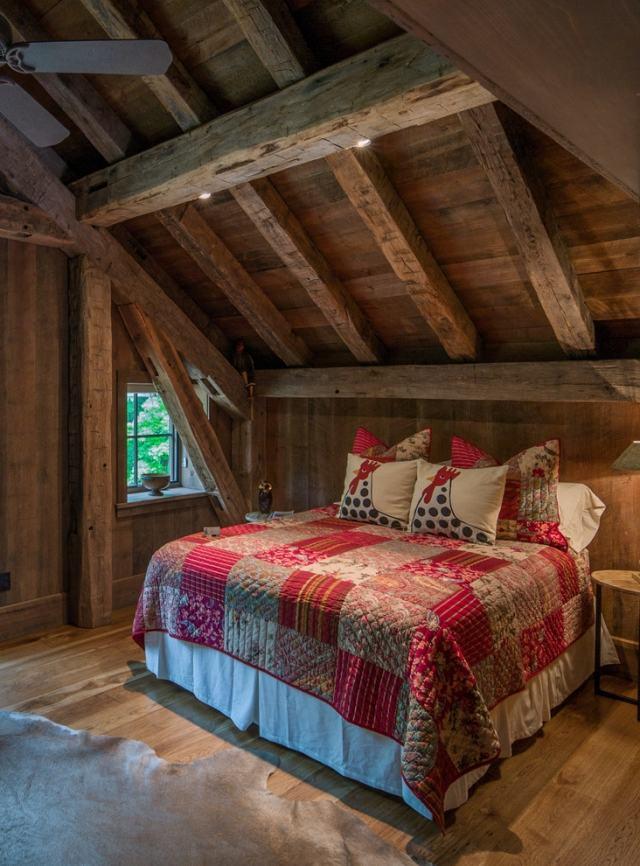 Schlafzimmergestaltung mit Dachschrge zum Wohlfhlen
