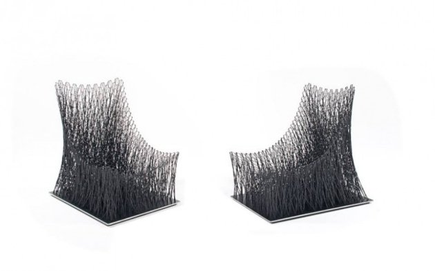 CarbonfaserArmlehnstuhl Design Luno von IL Hoon Roh