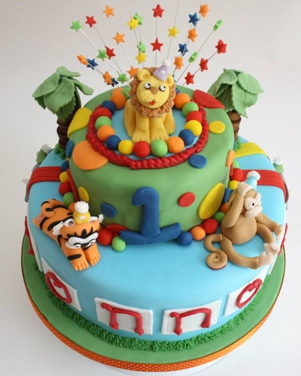 Ideen fr Motivtorten  55 Kuchen fr Babys 1 Geburtstag