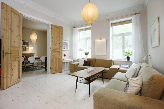 25 Wohneinrichtung Ideen  skandinavisches Wohnzimmer