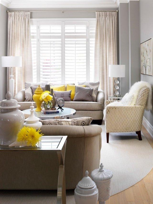 wohnzimmer deko grau ideen fuers wohnzimmer streichen farbe mit ... - Wohnzimmer Grau Ideen