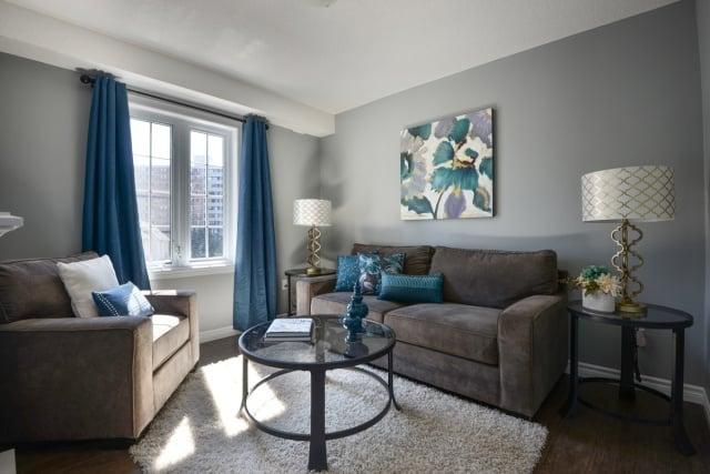 Farbideen Fürs Wohnzimmer  Wände Grau Streichen