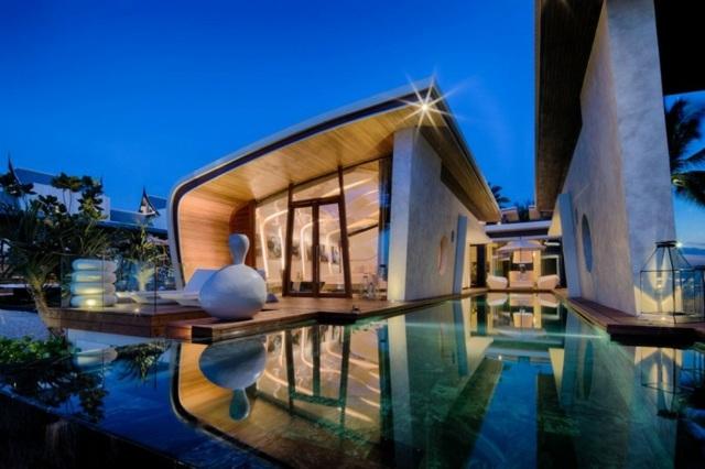 Iniala Luxus Villa am Strand von Acero