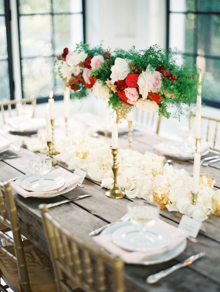 75 Ideen fr Hochzeitsdeko  Romantik pur am Tisch