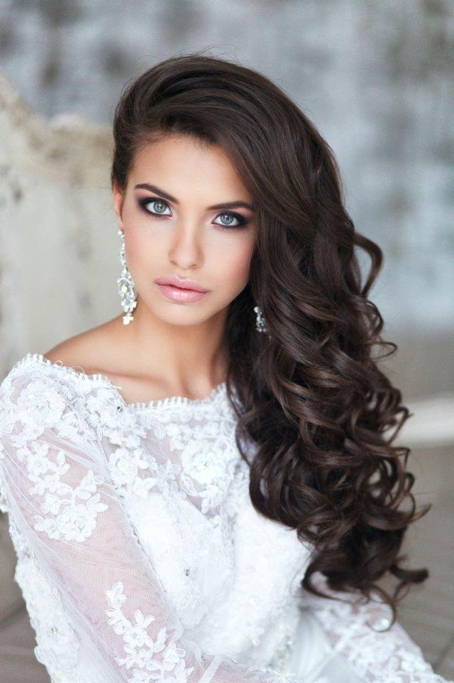 Brautfrisuren Für Lange Haare 60 Romantische Ideen