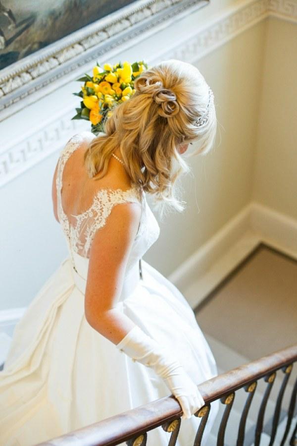Hochzeitsfrisur fr lange Haare 60 elegante Haarstyles