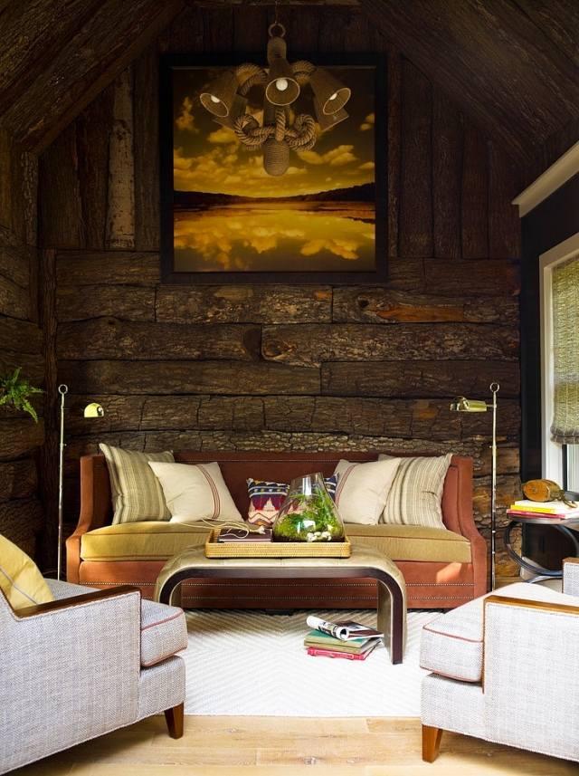 Wandgestaltung Mit Holz, Stein Und Beton Style Your Castle