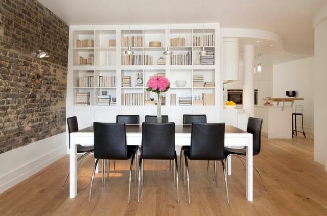 wandgestaltung im wohnzimmer die unbehandelte ziegelwand, startseite design bilder – minimalistisch esszimmer streichen, Ideen entwickeln