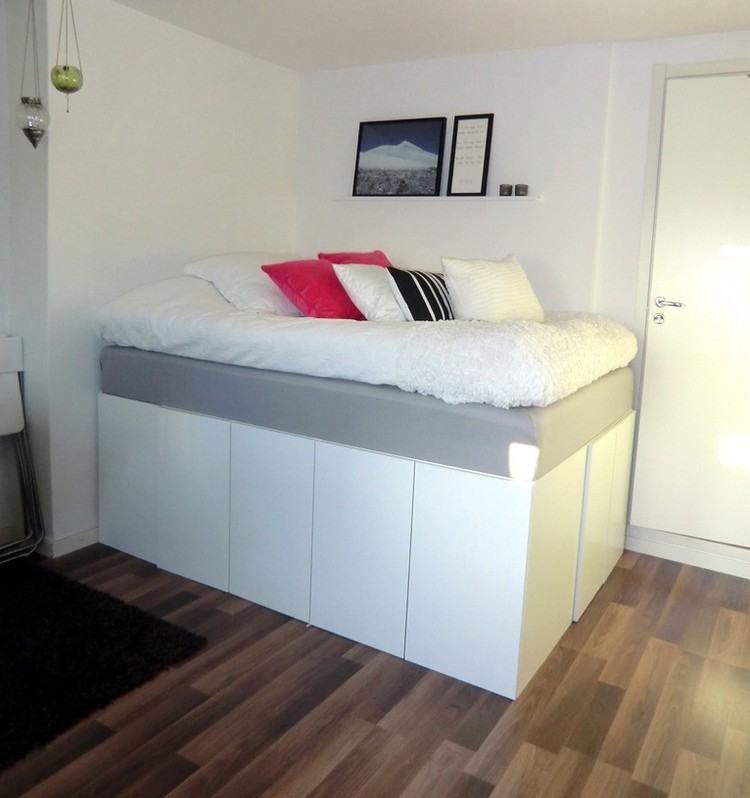 Schlafzimmer Hochbetten Erwachsene Kleine Wohnung L