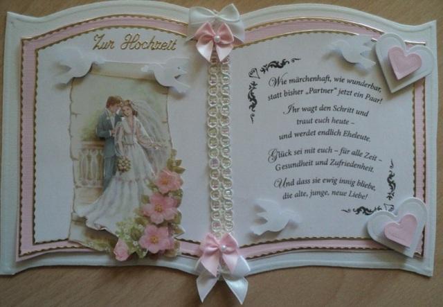 Hochzeitswnsche und Zitate fr das Brautpaar