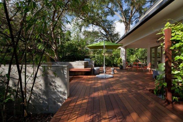 Terrassengestaltung mit Holz  30 inspirierende Ideen