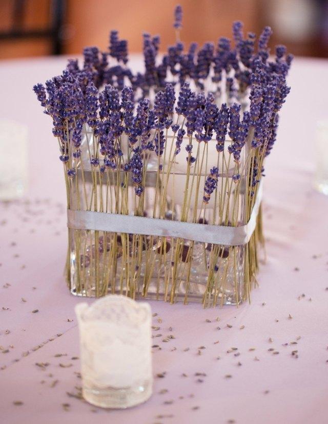 Lavendel Deko fr den Herbst  28 schne Ideen zum Basteln