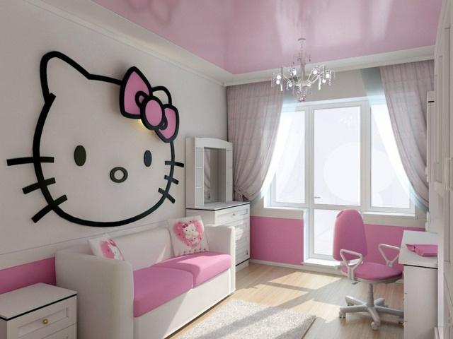Kinderzimmer fr Mdchen  105 Farb und Gestaltungsideen