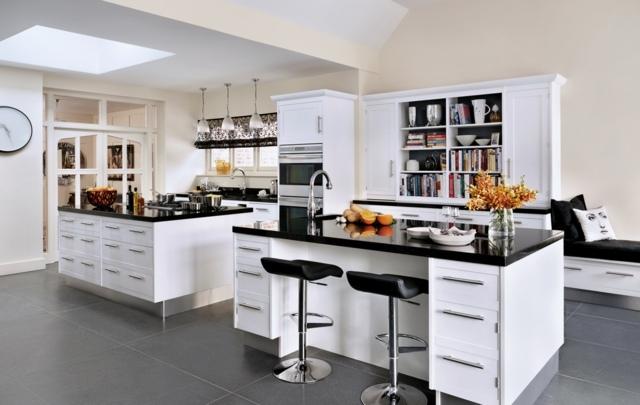 kuche mit kochinsel gro e moderne gestaltung - boisholz, Kuchen