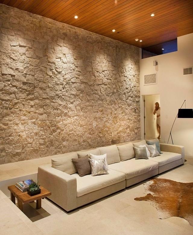 65 Ideen fr Wand Gestaltung mit Naturmaterialien