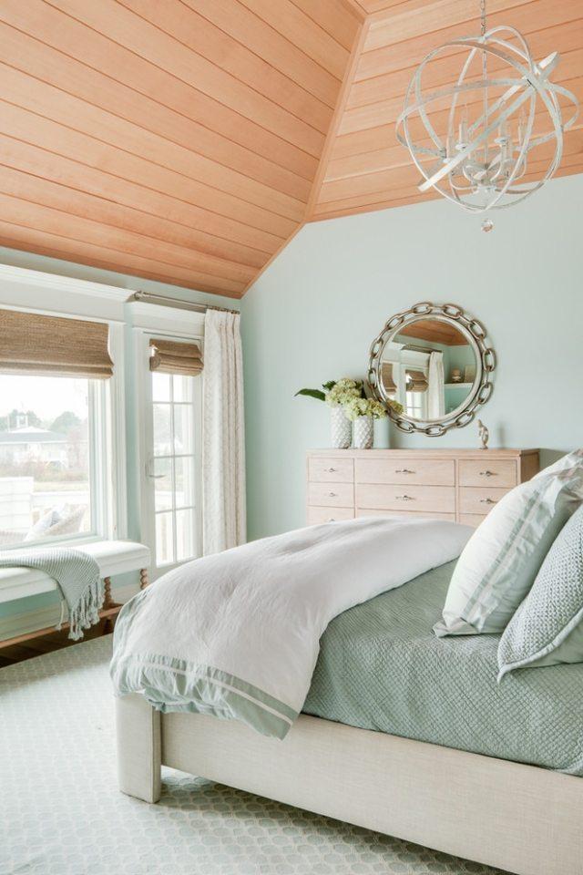 Beruhigende Farben Im Schlafzimmer   Aubergine Farbe ...