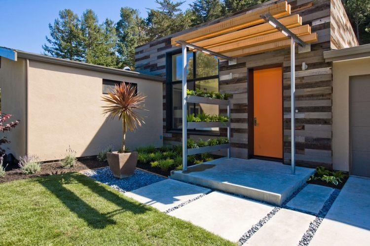 vorgarten modern graser vorgartengestaltung beispiele im, Gartenarbeit ideen