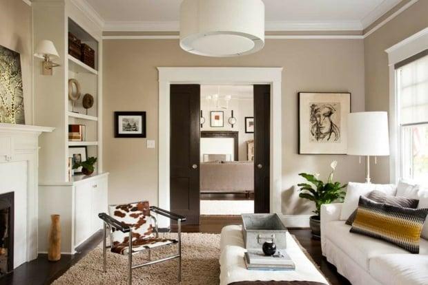 wohnzimmer beige wohnzimmer beige braun streichen wandfarbe grau ... - Wohnzimmer Beige Braun Grau