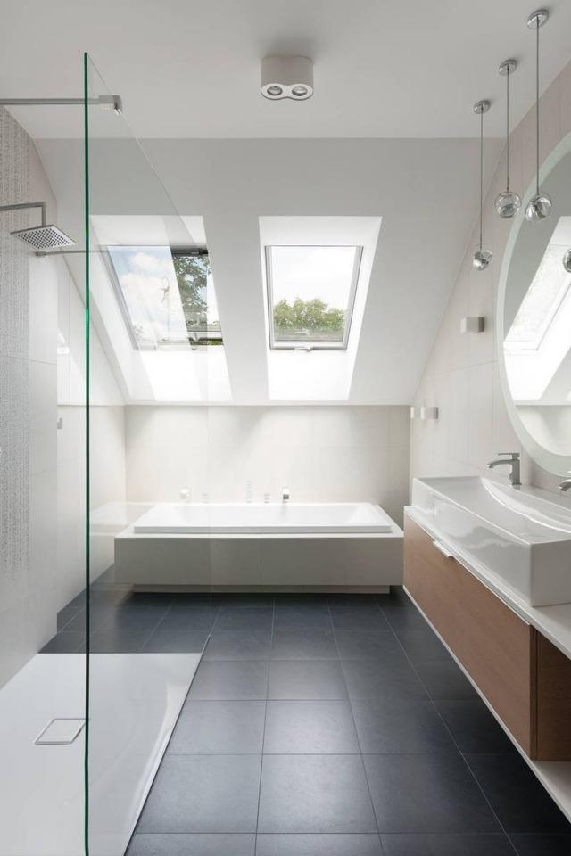 Badezimmer gestalten27 Ideen mit skandinavischem Charme